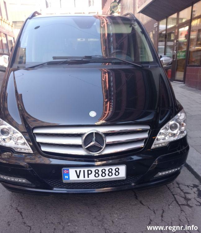 Bilde av KJ 15968, en Mercedes-benz Viano (KJ15968)