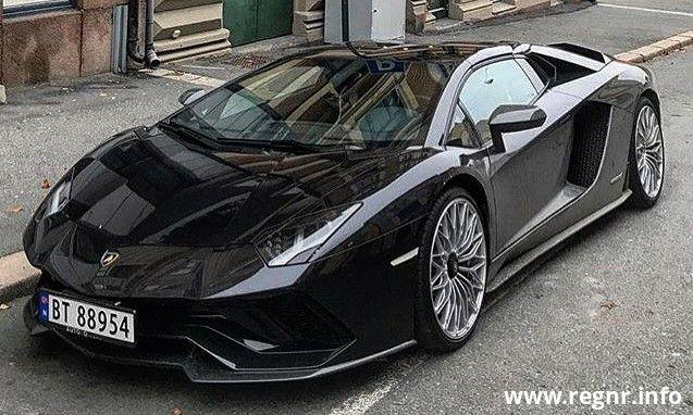 Bilde av BT 88954, en Automobili Lamborghini S.p.a. Aventador (BT88954)