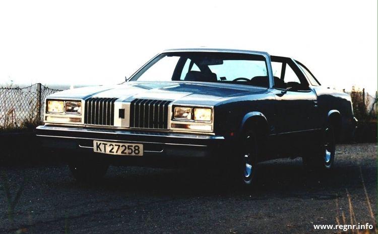 Bilde av KT 27258, en Oldsmobile Cutlass (KT27258)